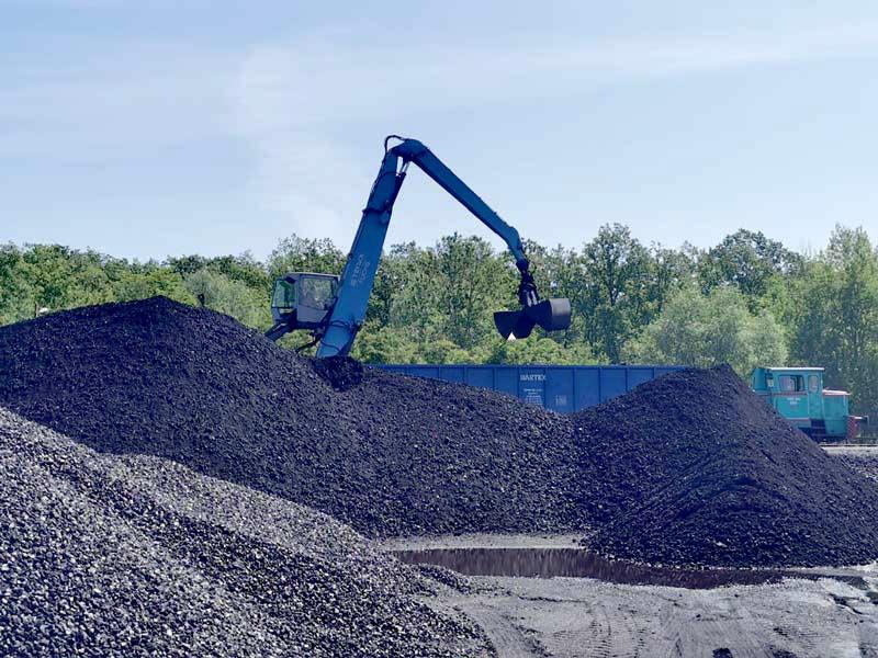 rozładunek węgla